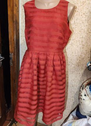 Шикарное платье 50 размер