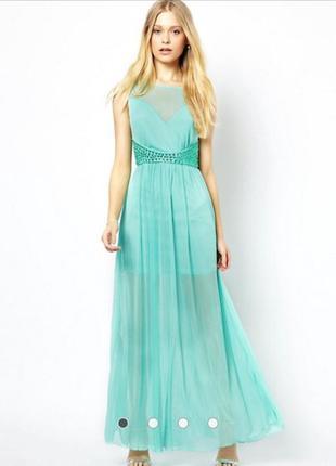 Шикарное платье сетка 44-46 размер
