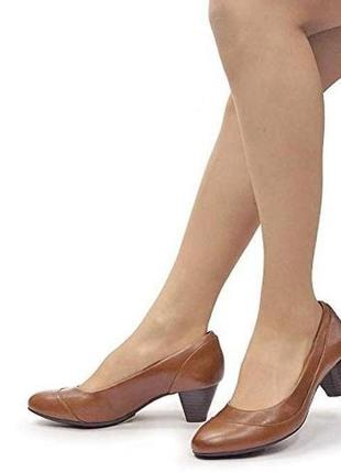 Кожаные туфли 38 размер