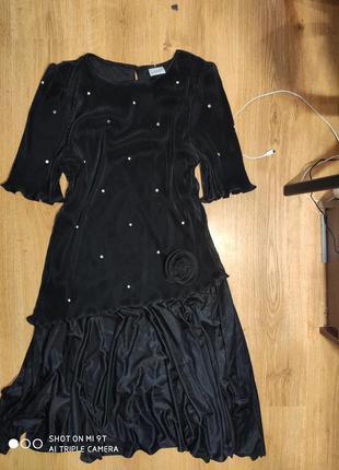 Винтажное платье 52 размер