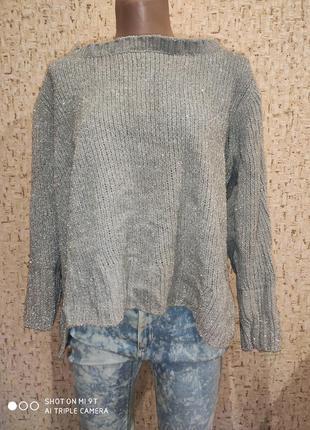 Стильный свитер оверсайз 50-52 размер