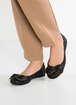 Кожаные балетки 37 размер италия