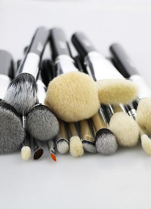 Кисти для макияжа Beili, набор кистей, пензлі для макіяжу