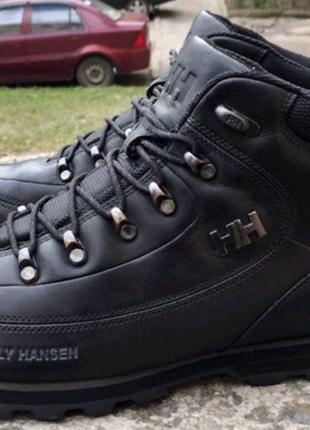 Оригинальные кожаные ботинки Helly Hansen. Зимняя мужская обувь 4