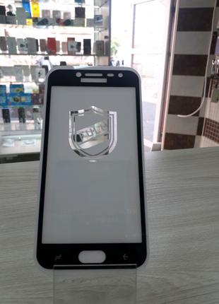 Защитное стекло colour Full Glue Samsung Galaxy J2 2018 (j250)