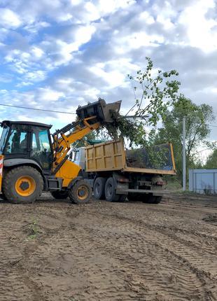 Вывоз строительного мусора в Гореничах, Стоянке, Белогородке