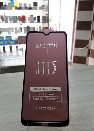 Защитное стекло Hd+ Full Glue Xiaomi Redmi 8/redmi 8a