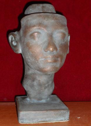 Нефертити, бюст, копия музейного образца, бронза металл
