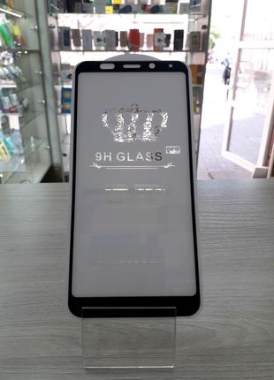 Защитное стекло 5D Full Glue Xiaomi Redmi 5+ plus черное