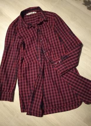Брендовая рубашка zara