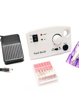 Фрезер nail drill zs-602 (45 вт/35000 оборотов)