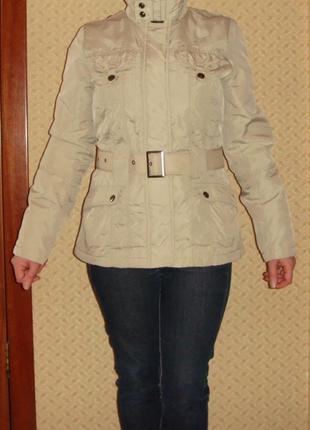 Английская женская демисезонная куртка greystone наш 46 /  eur 40