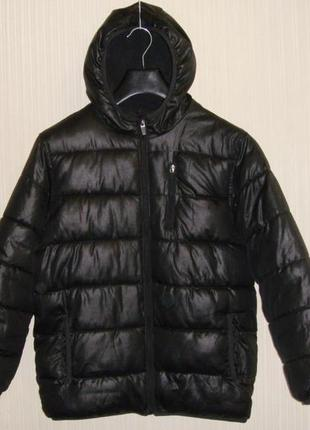 Детская теплая зимняя куртка old navy на мальчика 10-12 лет ро...