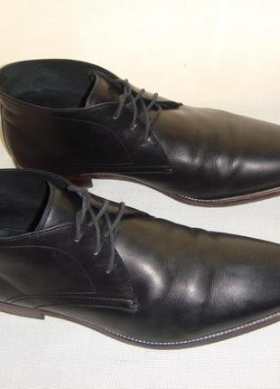 Кожаные демисезонные мужские ботинки dune london наш42-43 eur4...
