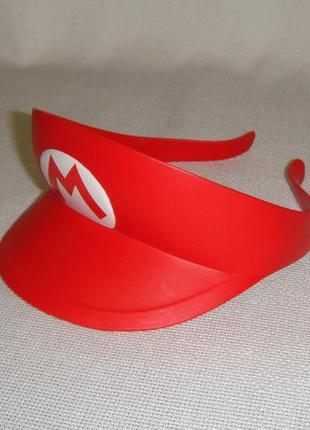 Детская фирменная летняя кепка козырек nintendo super mario br...