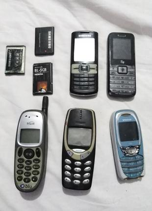 Телефони на запчастини Nokia, Samsung, Siemens, Fly, Trium.