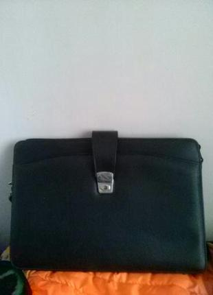 Новая мужская сумка-папка, черная
