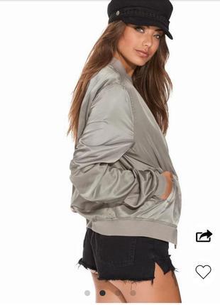 Бомбер куртка ветровка лёгкая женская