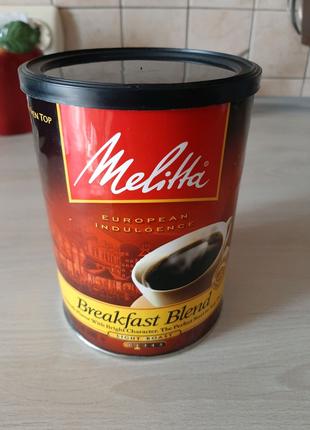 Банка из под кофе Brekfast Blend