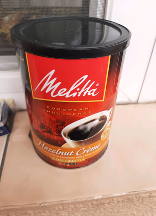 Банка из под кофе Hezelnut Creme