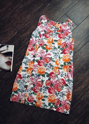 Очень красивое летнее натуральное платье большого размера
