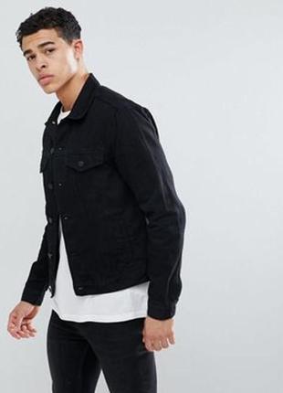 Мужская джинсовая куртка new look