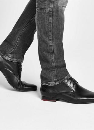 Дорогой бренд, кожа полностью, firetrap англия, мужские туфли ...