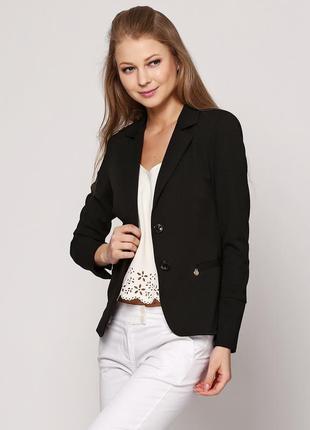 Пиджак с открытой спинкой