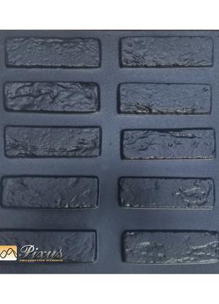 "Форма для изготовления декоративного камня ""Кирпич древний"""