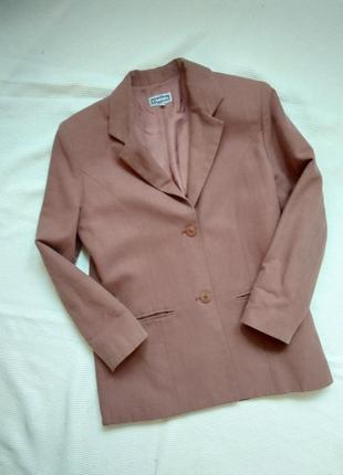 Жакет пиджак блейзер  свободного покроя