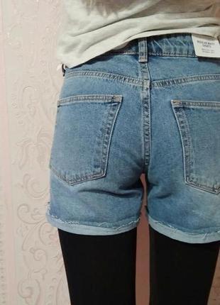 Шорты джинсовые h&m xs