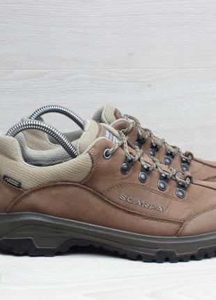 Кожаные треккинговые кроссовки scarpa оригинал, размер 40