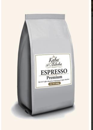 "Кава в зернах ""Espresso Premium"" 1 кг"