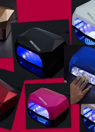 LED+CCFL лампа гибридная 36 Вт, однотонная, с сенсорным датчиком