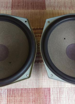 НЧ динамики Grundig, 100/150 Вт, 3 Ом, от 25 Гц, супер басс!