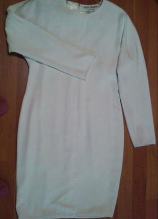 Платье молочного цвета на подкладке