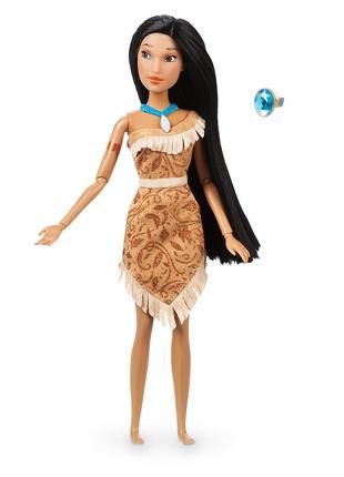 Классическая кукла принцесса Покахонтас с кольцом от Дисней