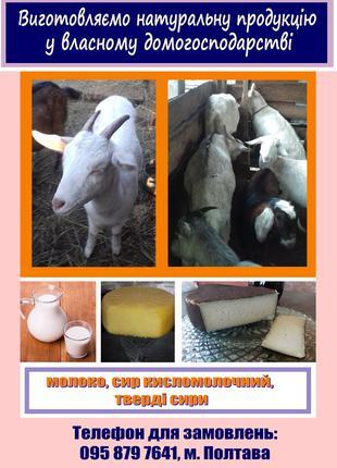 Козине молоко та молочні продукти