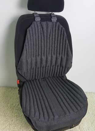 Ортопедическая накидка на сиденье авто Комфорт +, зима-лето, чехо