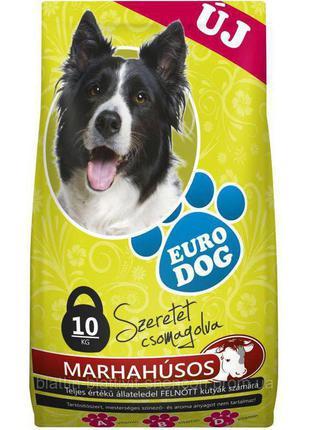 Euro Dog Корм для Собак Говядина 10 кг Hungary