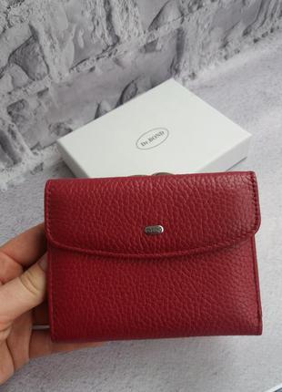 Женский кожаный кошелек жіночий шкіряний гаманець маленький