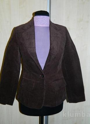 Пиджак женский коричневый размер 42-44