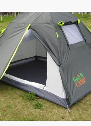 Двухместная двухслойная палатка Green Camp 1001 А