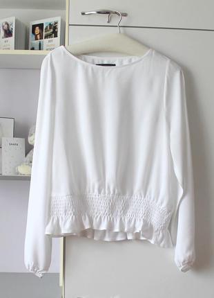 Белая блуза от marks&spencer