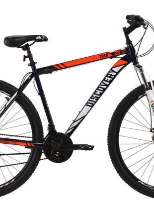 """Велосипед 29"""" Discovery TREK DD 21"""" сине-оранжевый 2020"""