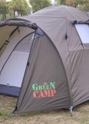 Двухместная двухслойная палатка Green Camp 3006