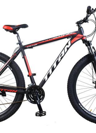 "Велосипед Titan Trail 29""*3"" 21"" black-red-white (29TJ3IN18-70-4)"