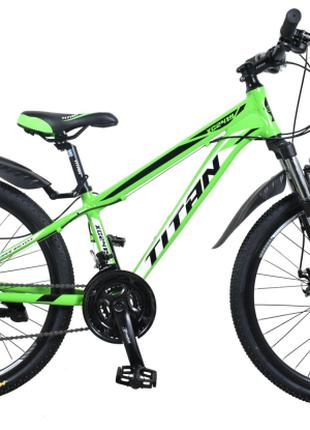 "Велосипед Titan XC2419 24""12"" green-black (24TJAL19-286) 2020"