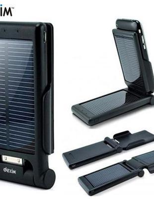 Внешний аккумулятор солнечная батарея док-станция для iPhone 3 4