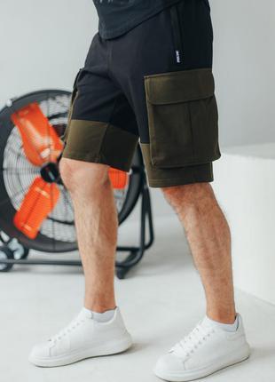 Мужские трикотажные шорты карго